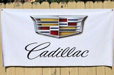 CADILLAC V FLAG 3x5 Banner Racing V ATS V XLR V STS V Escalade Man Cave Garage