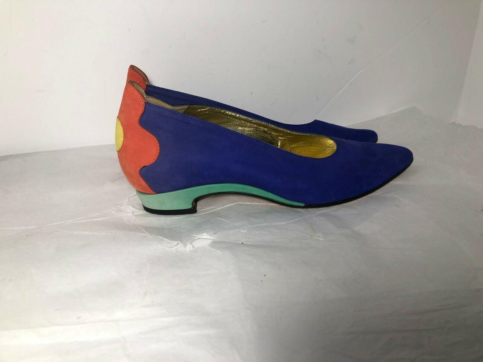 9fe717c8b68eb Vintage ESCADA Bright Multi colord color color color Block Velveteen ...