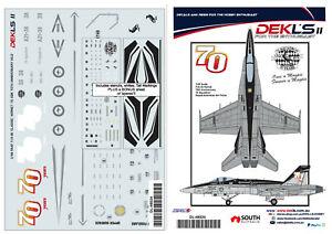1-48-Decal-75-SQN-RAAF-70th-Anniversary-F-A-18-Hornet-1-48-Scale-DEKL-039-s-II