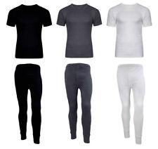 Boy/'s Morgan Mills Crew Top /& Drawer Bottom Set Thermal wear White Large