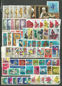 DDR-1972-gestempelt-kompletter-Jahrgang-mit-allen-Einzelmarken