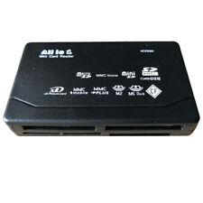 Grandey All in One Memory Card Reader USB External SD SDHC Mini Micro M2 MMC XD CF White