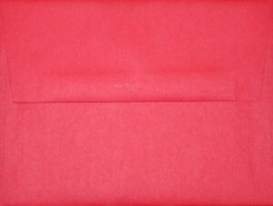 "A2 Envelopes (for 4 1/4"" x 5 1/2"" cards) - Red"