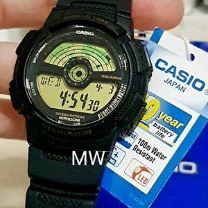 Authentic-Casio-AE-1100W-1B-World-Time-Illuminator-Digital-Watch-AE1100-AE1100W