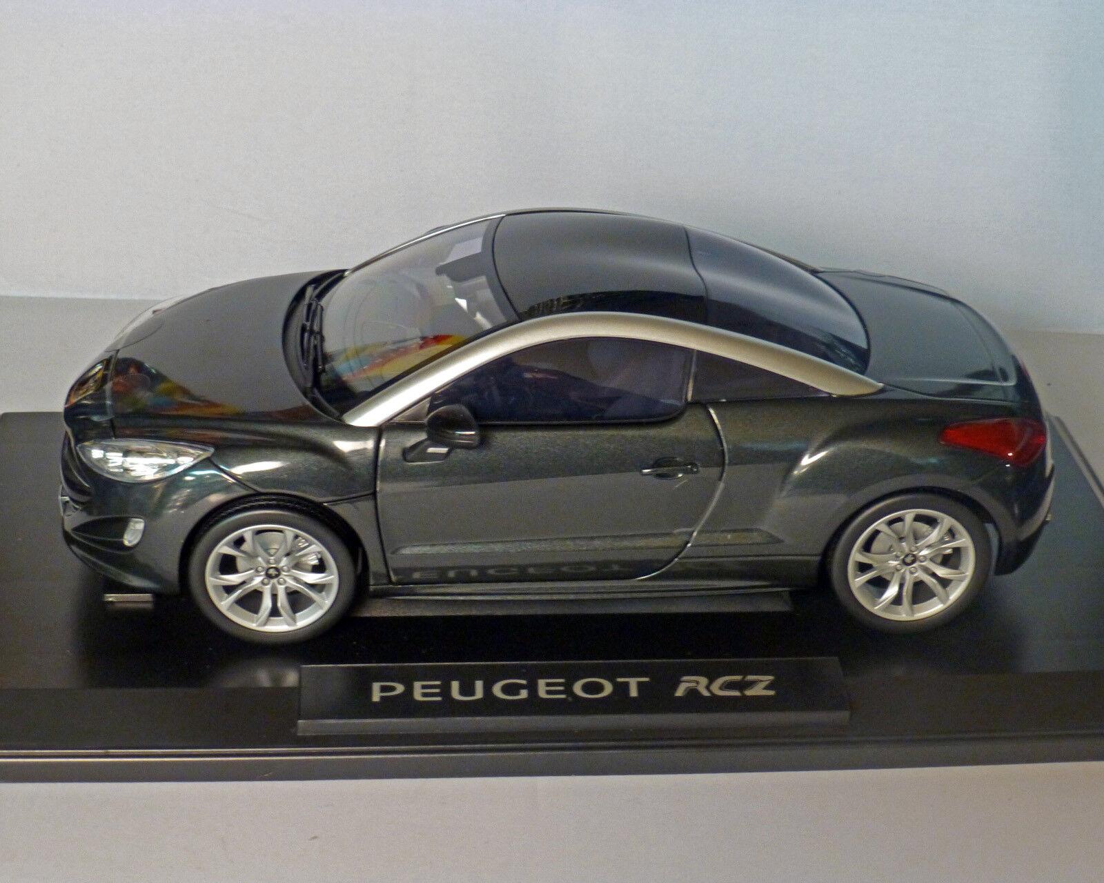 PEUGEOT RCZ Antracite-Metallico, serie 1, 1 18 NOREV