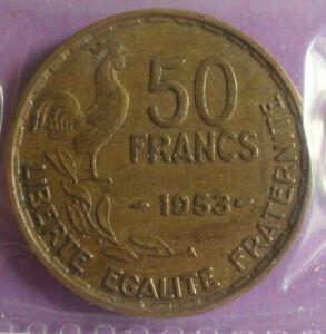 50-Francs-G-Guiraud-1953-TTB-piece-de-monnaie-Francaise-N46