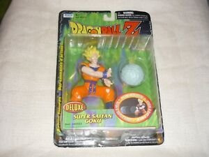 2000-Irwin-Toys-Dragon-Ball-Z-Deluxe-Super-Saiyan-Goku-5-034-Action-Figure-MISP