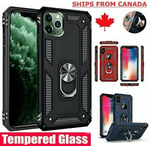 For-iPhone-12-XR-6-6S-7-8-11-Pro-Max-Shockproof-Heavy-Duty-Ring-Case-Cover