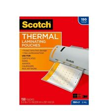 New Listingscotch Thermal Laminating Pouches 150 Pack