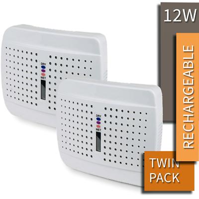 Mini Portable Compact Slim Silica Rechargeable Dehumidifier lightweight BNIB