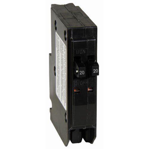 Square D  Electric QO2020CP QO 2-20-Amp Single-Pole Tandem Circuit Breaker