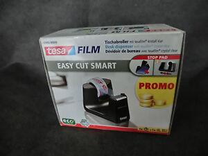 2-x-tesa-EASY-CUT-SMART-Tisch-Klebeband-Abroller-Nr-53903-1-Rolle-Film-WS
