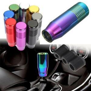 Universale-Auto-Pomello-Leva-Del-Cambio-Alluminio-Manuale-Manopola-Coloreful