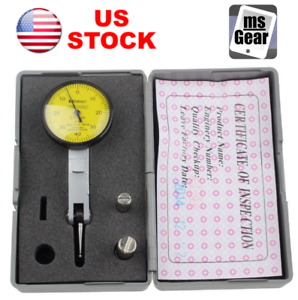 0.001mm Accurate Metric Reading Dial Gauge Test Indicator with Dovetail Rail