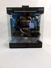 Creative Sound Blaster Tactic Alpha 3D Headphones for Parts