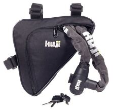 NEW KUJI CYCLE LOCK FRAME BAG - LOCK CARRIER POUCH POD - BICYCLE BIKE MTB ROAD