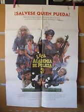 A1271  LOCA ACADEMIA DE POLICIA 3: VUELTA A LA ESCUELA. STEVE GUTTENBERG, BUBBA