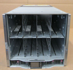 HP-BladeSystem-BL-C7000-G3-GEN3-Platinum-Chassis-6x-2450W-PSU-10x-Fans-2x-OA
