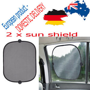 CAR-SUN-SHIELD-x-2-Side-Panes-Protection-Holidays-Vacuum-Cups-44-x-37-CM-REER