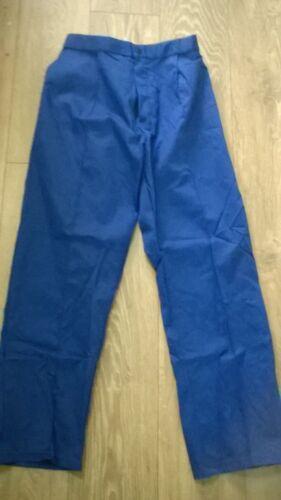 "Ladies royal blue work trousers NHS Nurse etc NEW Waist 22/"" 24/"" 26/""  4 6 8 TR278"