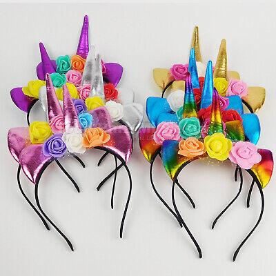 Unicorn Children Headbands Girl Party Favors Unicorn Party Supplies Ebay