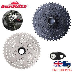 UK-SunRace-8-Speed-11-40T-MTB-Bike-Cassette-fit-SHIMANO-SRAM-Freewheel-Adapter