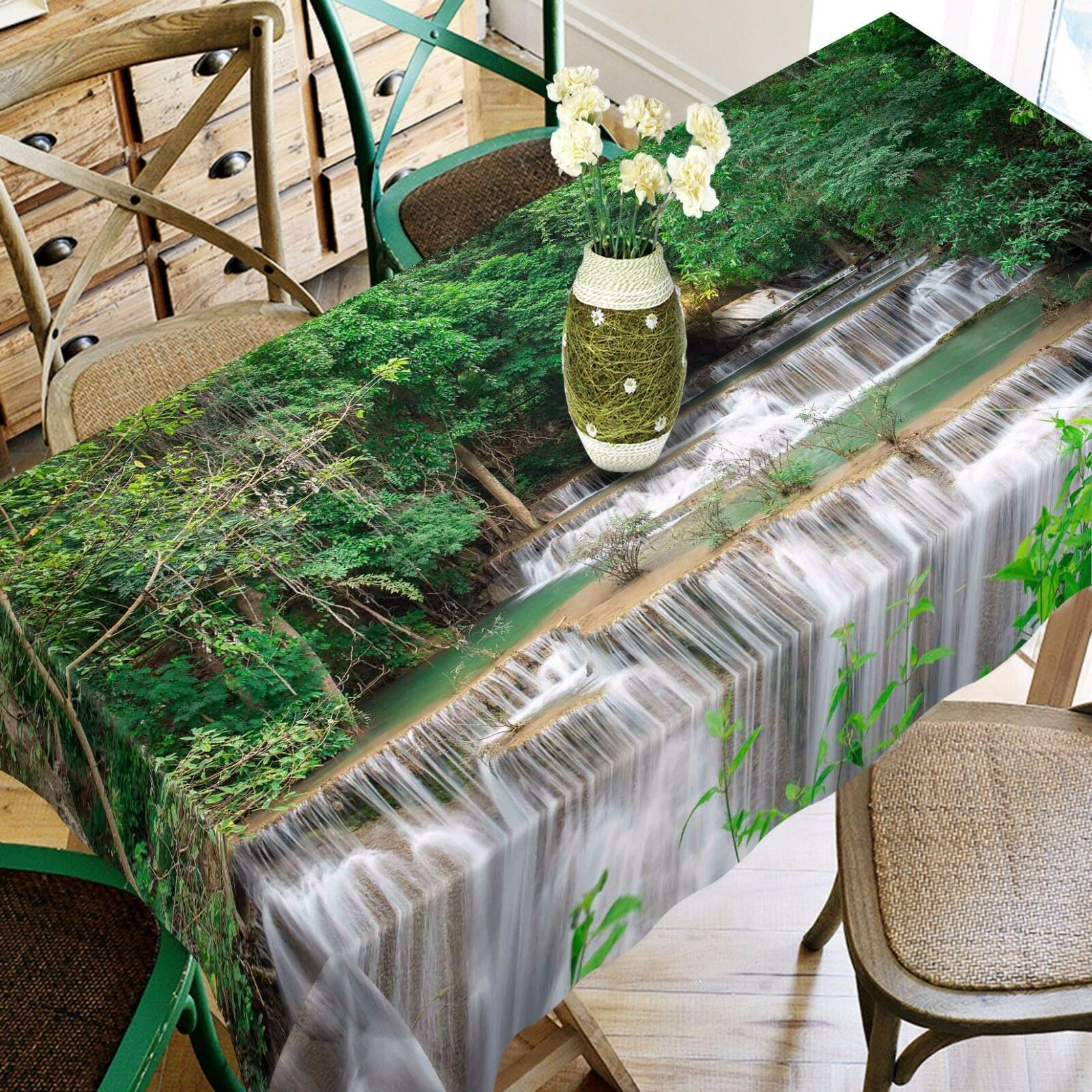 3D eaufall83 Tablecloth Table Cover Cloth Birthday Party Event AJ WALLPAPER AU