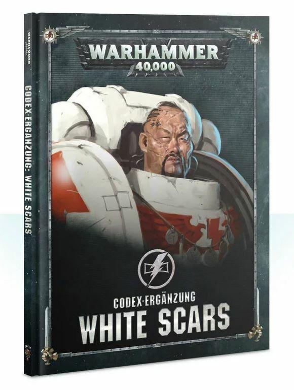 blanco SCoches Codex Suplemento (Alemán) Juegos Workshop Warhammer Space Marines
