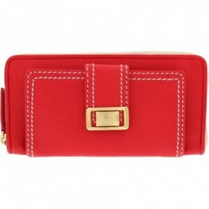 New-Brighton-Trendoro-Large-Leather-Wallet-Candy-Apple-Red-NWT
