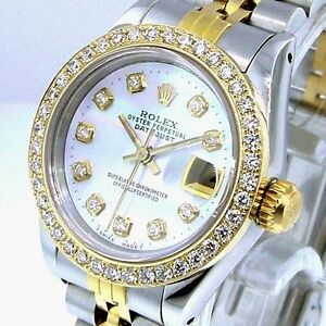 ROLEX-DATEJUST-18K-YELLOW-GOLD-STEEL-WHITE-MOTHER-OF-PEARL-DIAMOND-DIAL-BEZEL
