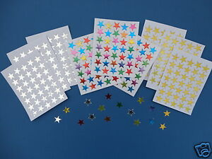GOLD-SILVER-MULTI-COLOUR-REWARD-STARS-60-100-200-500-SELF-ADHESIVE-STICKERS