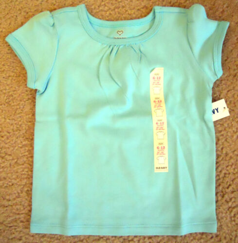 Baby Girls Old Navy Short Sleeve Shirt Size 6-12 12-18 18-24 Months 2T 3T 4T 5T