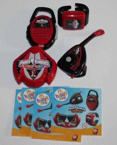 2006 Power Rangers SPD Serie completa McDonald/'s MC DONALD/'S HAPPY MEAL