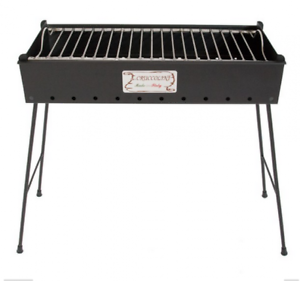 BARBECUE A CocheBONE IN FERRO BATTUTO BRIANZA CM. 80X25X71