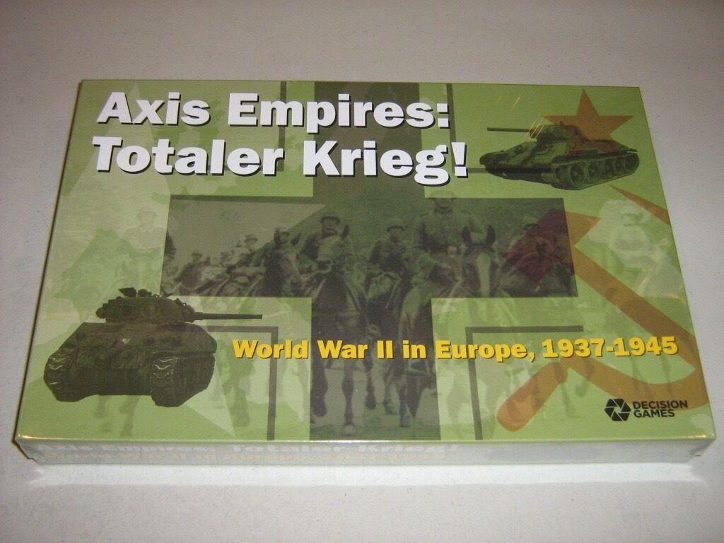 Axis imperios  Totaler Krieg  II Guerra Mundial en Europa, 1937-1945 (nuevo)