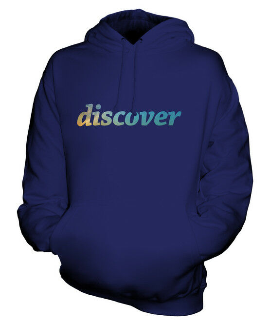 DISCOVER SPACE UNISEX HOODIE TOP GIFT ASTRONOMY