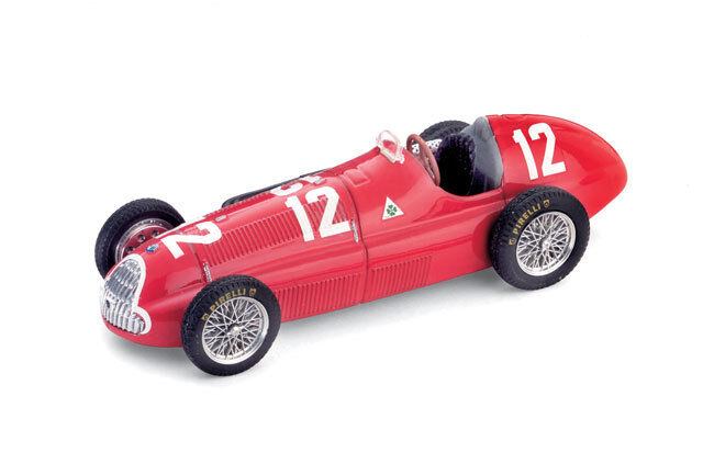 Alfa Romeo 158 GP Switzerland 1950 Fagioli 1 43 2001 Model S055 BRUMM