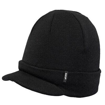 Barts New Hommes Vista Bonnet-pour femme gris foncé BNWT