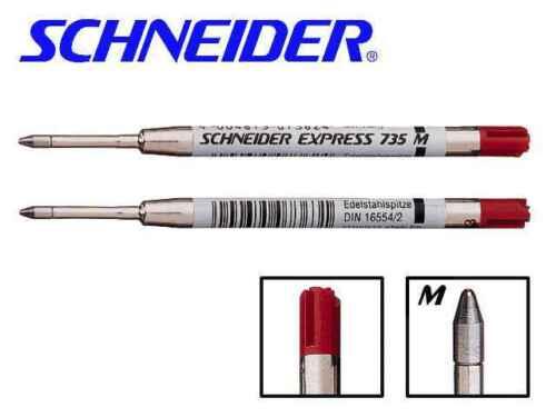 Stärke M 4 x Schneider Kugelschreiber Großraummine EXPRESS 735 G2-System