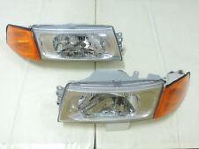 1998 2001 Mitsubishi Lancer Evo 5 6 Chrome Headlights Amp Amber Corner Light Fits 1999 Mitsubishi Mirage