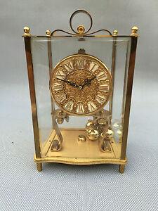 Antica orologio a pendolo da tavolo kundo tedesca west germany francese clock ebay - Orologio a pendolo da tavolo ...