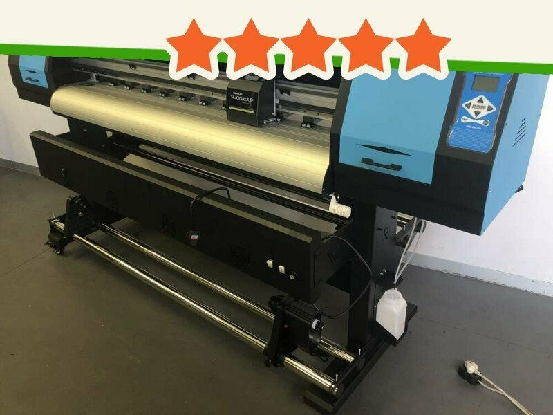 F1-1804D/XP600 Large Format Printer FastCOLOUR ONE 1800mm Printing Area Large Format Printer, Two...