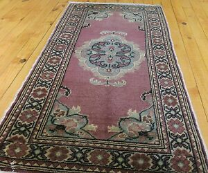 Antiques Helpful Floral Patterned Vintage 1939-1950s Natural Dyes,hereke Rug Turkey Spare No Cost At Any Cost