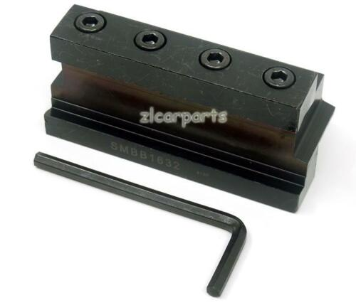 SMBB1632 Cut Off Blade Holder Base block with T-wrench For SPB332 232 CNC Lathe
