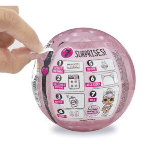 LOL-Surprise-Doll-GLAM-GLITTER-Series-Big-Sisters-Toys-7-Surprise-One-Ball