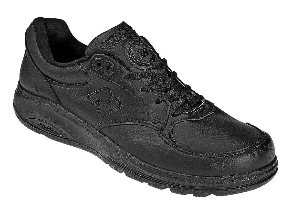 Homme NEW BALANCE 812 Walking Chaussures  Sz 8.5 D MED Stabilizing Rollbar Noir