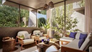 Casa 442m2, 5 recámaras, jardín y alberca privada, Aldea Zama, Tulum