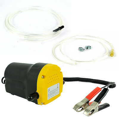 12V OIL DIESEL FLUID EXTRACTOR TRANSFER PUMP ELECTRIC SIPHON CAR MOTORBIKE WATER