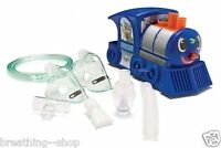 Train Nebulizer Compressor For Kids. Lights Up During Use. Includes Stickers