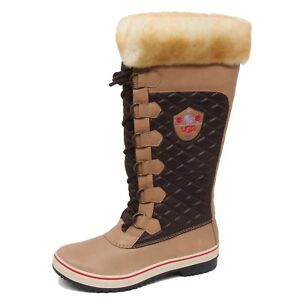 Shoe Woman brown Donna Ugg Tissue Stivale Box Beige Boot F0144 no leather wqvRPRB